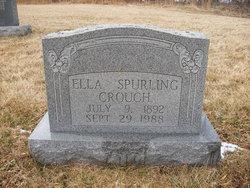Ella Elizabeth <I>Spurling</I> Crouch