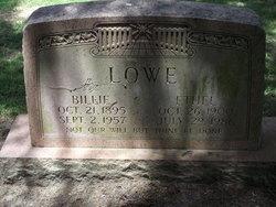 Ethel <I>Burgess</I> Lowe