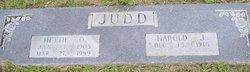 Harold Jarvis Judd