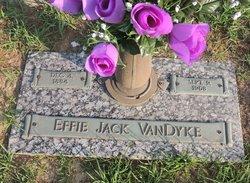 Effie Jack <I>Hodge</I> VanDyke