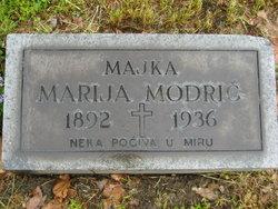 Marija <I>Bahnik</I> Modric