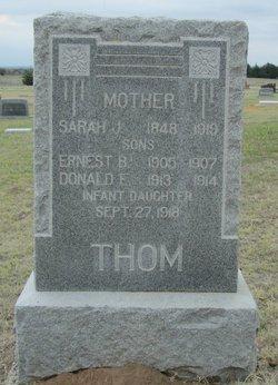 Sarah J Thom
