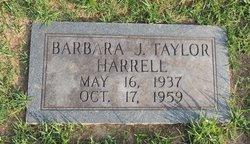 Barbara Joan <I>Taylor</I> Harrell