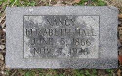 Nancy Elizabeth Hall