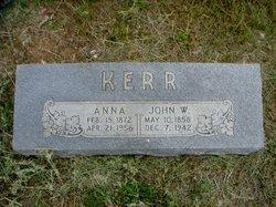 "Anna ""Annie"" <I>Meeker</I> Kerr"