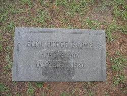 Elise <I>Hodge</I> Brown