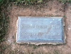 Mildred Elizabeth Blow