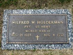 "Wilfred W ""Bill"" Holderman"