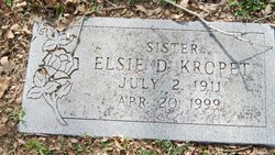Elsie D. Kropet