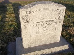 Sally Elizabeth Thomas