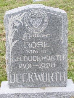Rose <I>Satterfield</I> Duckworth