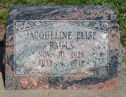 Jacqueline Elise Pauls