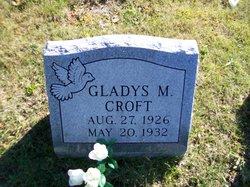 Gladys M Croft