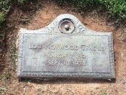 Lou Wilkins <I>Norwood</I> Teague