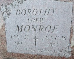 Dorothy <I>Loew</I> Monroe