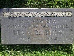 Lea V Rotstein