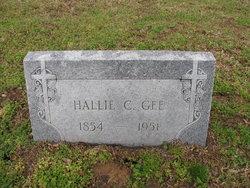 Hallie C Gee