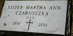 Sr Martha Ann Czarnyszka