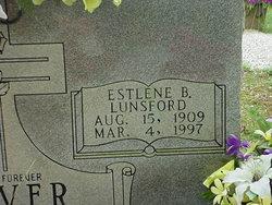 Estlene <I>Lunsford</I> Beaver