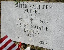 Sr Kathleen Nuebel