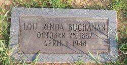 Lou Rinda <I>Griffitts</I> Buchanan
