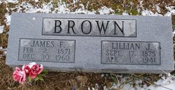 Lillian J <I>Jarboe</I> Brown