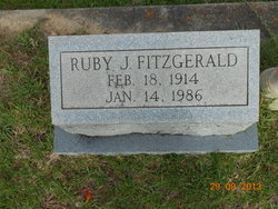 Ruby <I>Jones</I> Fitzgerald