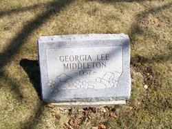 Georgia Lee Middleton
