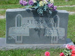 Maudie Lee <I>Riley</I> Autry