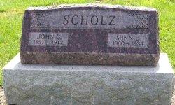 Minnie E. <I>Gerken</I> Scholz