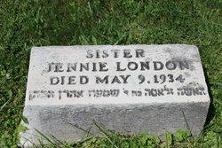 Jennie <I>Cohen</I> London