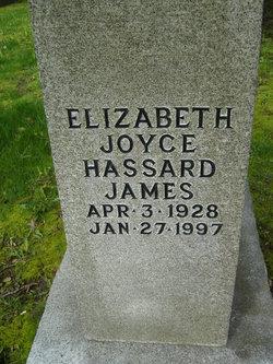 Elizabeth Joyce <I>Hassard</I> James