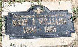 Mary J. Williams