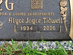 Alyce Joyce <I>Tidwell</I> King