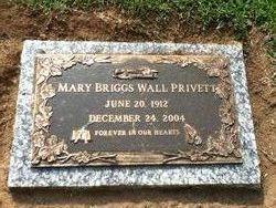Mary <I>Briggs Wall</I> Privett