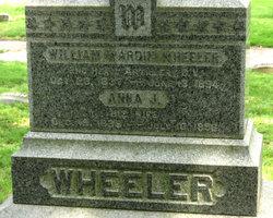 Anna J. <I>Sherwood</I> Wheeler