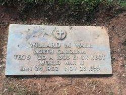 Willard Marvin Wall