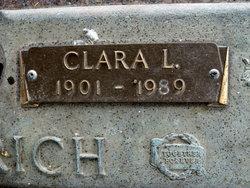 Clara L <I>Ott</I> Friedrich