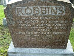 Jennie <I>Ramsay</I> Robbins