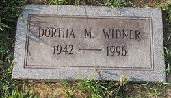 Dortha M Widner
