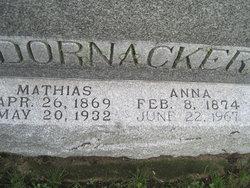 Anna <I>Berres</I> Dornacker