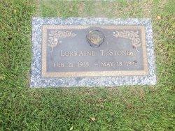 Lorraine T Stone