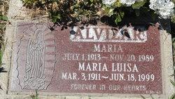 Maria Luisa Alvizar