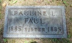 Pauline L Faul