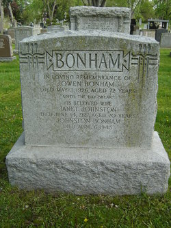 Johnston Bonham