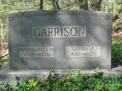 Sarah <I>Pennington</I> Garrison