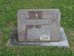 Cora <I>Barnes</I> Heimeyer