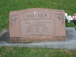 Vera P. <I>Greene</I> Cornelius Henderson