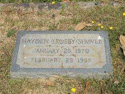 Hayden Crosby Shover