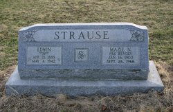 Mazie May <I>Berger</I> Strause